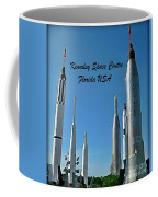 Post Card Of The Kennedy Space Centre Florida Coffee Mug