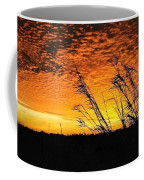 Post Hurricane Rita Clouds At Dockside In Beaumont Texas Usa Coffee Mug