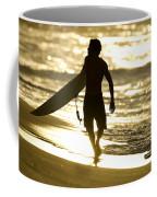 Post Surf Gold Coffee Mug