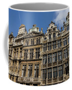 Postcard From Brussels - Grand Place Elegant Facades Coffee Mug