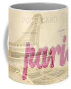 Postcard From Paris Coffee Mug
