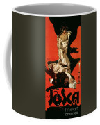 Poster Advertising A Performance Of Tosca Coffee Mug