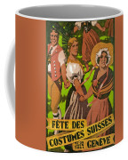 Poster Advertising F?te Des Costumes Coffee Mug