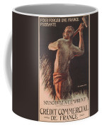 Poster Advertising The French National Loan Coffee Mug by B Chavannaz
