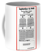 Poster Battle Of Britain Coffee Mug