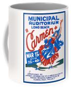 Poster For Production Of Carmen Coffee Mug