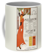 Poster For 'the Pseudonym And Autonym Libraries' Coffee Mug