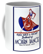 Poster Modern Dance Festival Coffee Mug