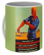 Poster Promoting Emigration To Canada Coffee Mug