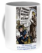 Poster Women Recruit Coffee Mug