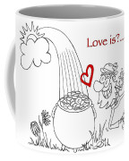 Pot Of Gold Valentines  Coffee Mug
