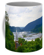 Potomac River At Harpers Ferry Coffee Mug