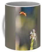 Potter Wasp In Flight Coffee Mug