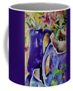 Pottery And Flowers Coffee Mug