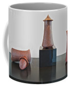 Pottery Artist Who Uses Bottle Openers In Designing His Works Of Art In Maryhill Museum Of Art-wa Coffee Mug