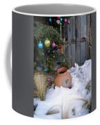 Pottery In Snow At Xmas Coffee Mug