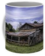 Pottsville Arkansas Historic Log Barn Coffee Mug