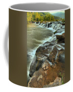 Pouring Through The New River Coffee Mug