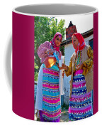 Pouring Wine For Guests In Demircidere Koyu In Kozak-turkey Coffee Mug