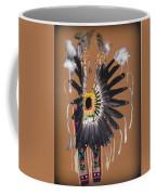 Pow Wow Regalia - Orange Coffee Mug