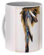 Pow Wow Regalia - White Coffee Mug