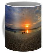 powder-white sand of Seven Mile Beach Coffee Mug