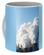 Power Station Plumes. Coffee Mug