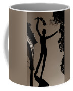 Prague Castle Statue Coffee Mug