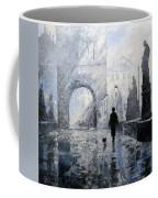 Prague Charles Bridge Morning Walk Coffee Mug
