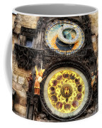 Prague Clock Orloj Coffee Mug