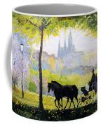 Prague Midday Walk In The Petrin Gardens Coffee Mug