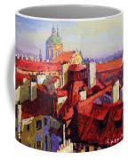 Prague Old Roofs 04 Coffee Mug