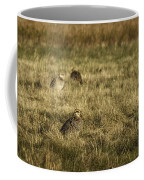 Prairie Chickens After The Boom Coffee Mug by Thomas Young