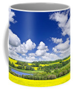 Prairie Panorama In Saskatchewan Coffee Mug by Elena Elisseeva