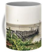Prange Street Pier Raining Coffee Mug