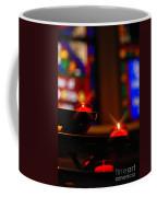Prayer Candles Trinity Cathedral Pittsburgh Coffee Mug