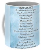 Prayer Of Saint Francis Coffee Mug