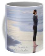 Prayer To Abba Coffee Mug