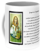 Prayer To St. Dymphna Coffee Mug