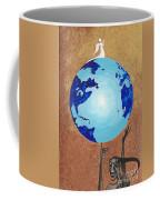 Praying Angel Coffee Mug by Margaryta Yermolayeva
