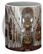 Praying At Munich Church Germany Coffee Mug
