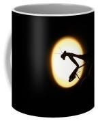 Praying Mantis Silhouette Coffee Mug