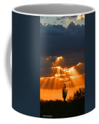 Pre Sunset Sky With Saguaro Coffee Mug