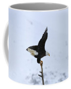 Precarious Perch Coffee Mug