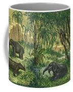 Prehistoric, Miocene Landscape Coffee Mug