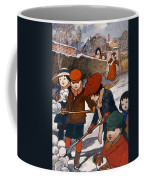 Preparing For The Snowball Fight Coffee Mug