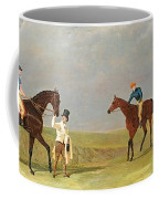 Preparing To Start For The Doncaster Gold Cup 1825 Coffee Mug