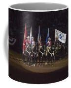 Presenting The Colors On Horseback Coffee Mug