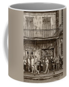 Preservation Hall Sepia Coffee Mug