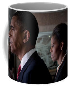 President And Mrs Obama Coffee Mug by Mountain Dreams